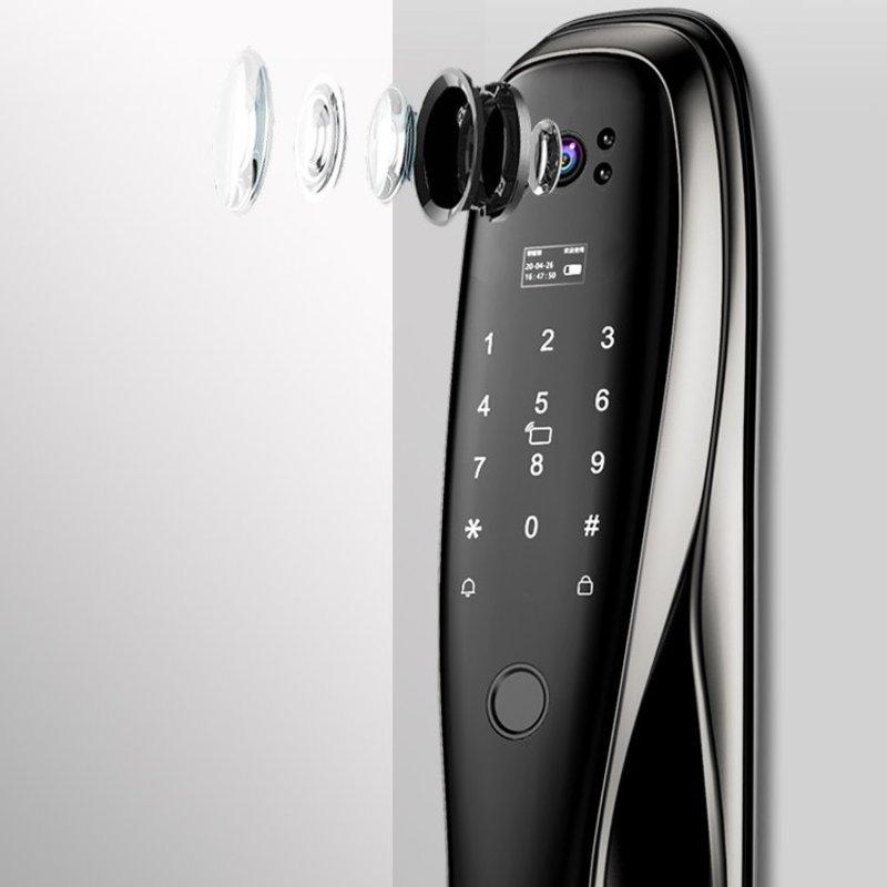 Khóa cửa vân tay tự động tích hợp chuông hình Hamboo HSS006 (Wifi)