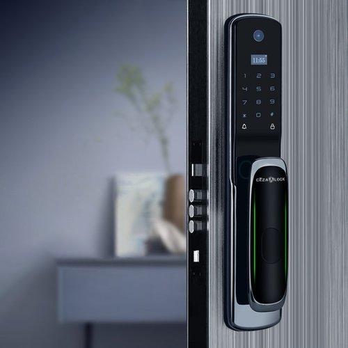 Khóa cửa vân tay tự động tích hợp chuông hình Cezalock CZC007 (Wifi)
