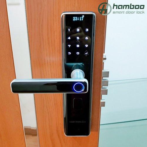 Lắp đặt khóa thông minh HSF002 cho nhà dân tại Xuân Đỉnh, Bắc Từ Liêm, Hà Nội
