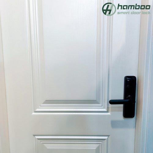 Lắp đặt khóa thông minh HSF005 cho căn hộ chung cư Hapulico Vũ Trọng Phụng