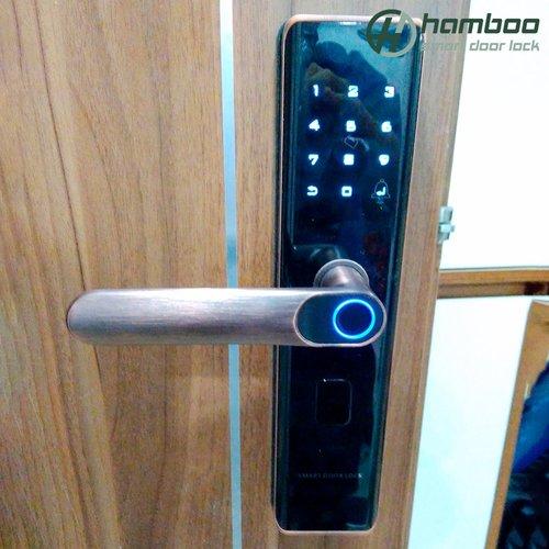 Lắp đặt khóa thông minh HSF003 cho căn hộ chung cư Imperial Giải Phóng