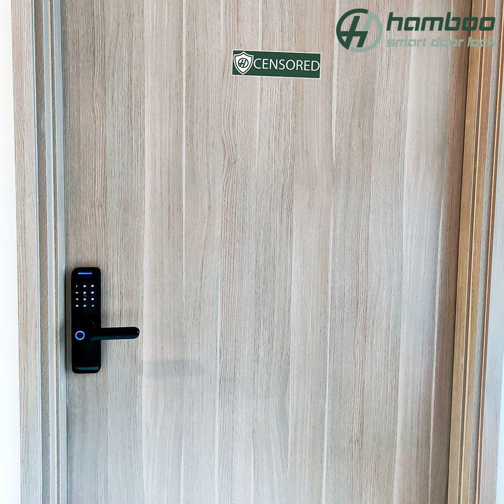 Lắp đặt khóa thông minh HSF005 cho căn hộ chung cư S2, khu đô thị Vinhomes Ocean Park