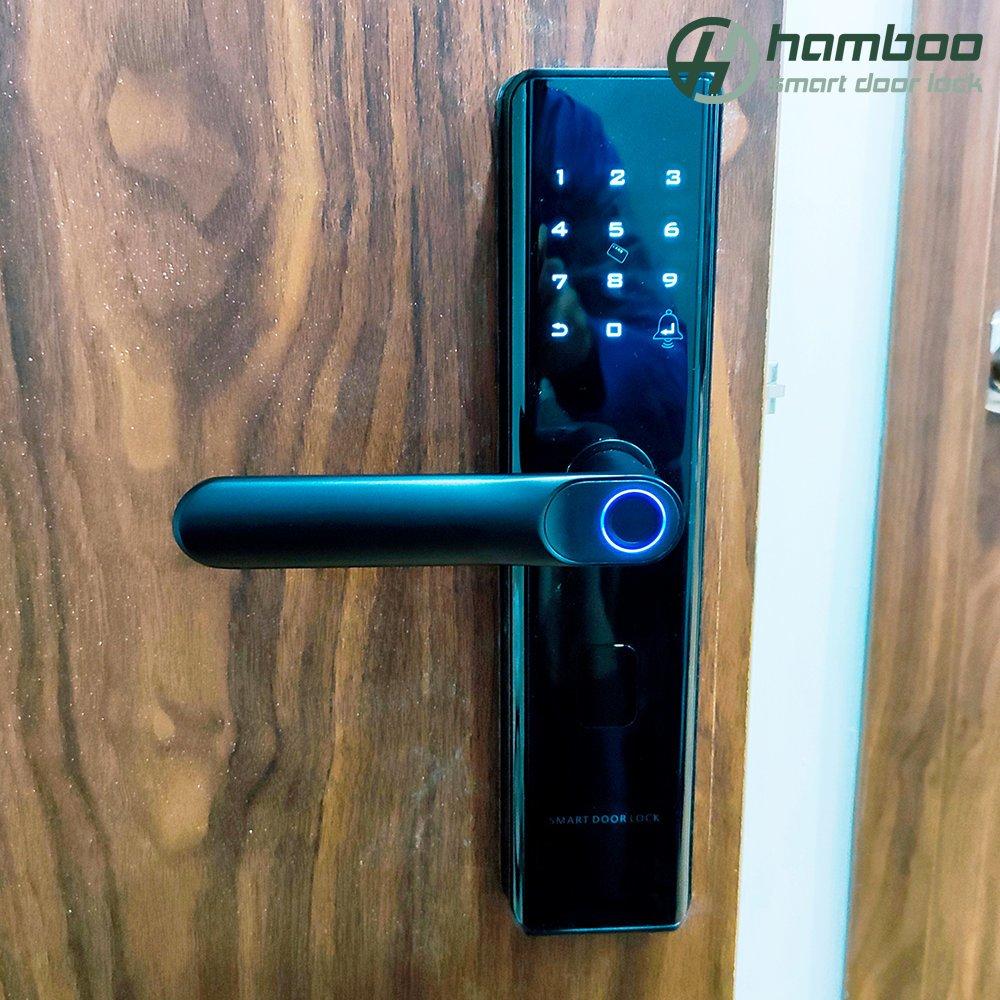 Lắp đặt khóa thông minh HSF003 cho căn hộ chung cư IA20, khu đô thị Ciputra