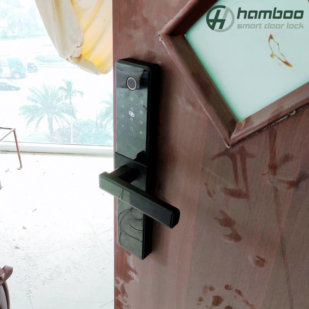Lắp đặt khóa thông minh HSF19 và HSF002 cho văn phòng tại Khuất Duy Tiến, Cầu Giấy, Hà Nội
